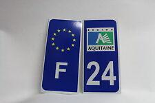 LOT 2 stickers REFLECHISSANT F + Département 24
