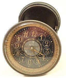 ANTIQUE FRENCH FIGURAL JE CALDWELL PHIL MANTEL SHELF CLOCK MOVEMENT PARTS REPAIR