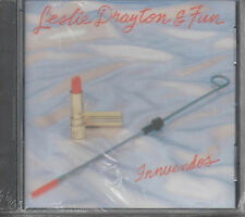 Leslie Drayton & Fun innuendos CD NUOVO Monday afternoon Happy Eyes sexy lady