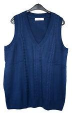Lange Damen-Pullover & -Strickware aus Baumwollmischung ohne Verschluss