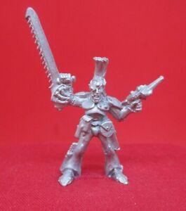 Warhammer 40k citadel 1987 ROGUE TRADER RT402 ELDAR CAPTAIN ELRES FIREFLASH