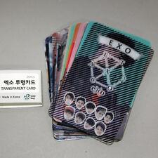 EXO Clear Transparent Photo Card Photocard 25PCS Set K-POP