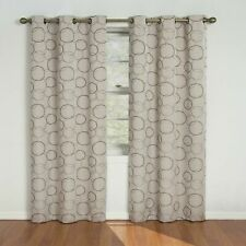 "Eclipse Blackout Curtains for Bedroom-Meridian 42"" x 84"" Insulated Darkening"