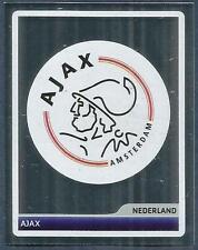 PANINI UEFA CHAMPIONS LEAGUE 2006-07- #345-AJAX TEAM BADGE-SILVER FOIL