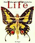 Sexy Pretty Flapper Butterfly Prohibition Era Life Magazine Cover Photo Wall Art