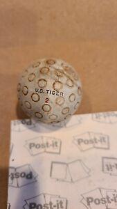 Antique U.S. Tiger 2 golf ball, unique cover