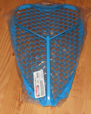 YAMAHA RAPTOR 700 BLUE PLASTIC FRONT RADIATOR GUARD, VENTED COVER 13-17