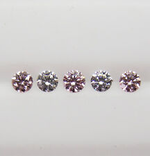 ARGYLE AUST PINK DIAMONDS- 0.135ct MATCHED SET 100% UNTREATED +CERT AVAILABLE