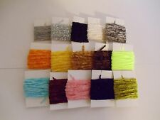 Assorted Fly Fishing Chenille- Lot of 15