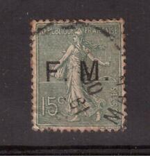 FRANCE 1904 USED # M3, FRANCHISE MILITAIRE !!