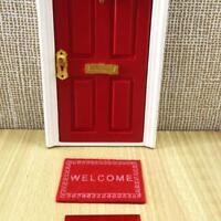 1:12 Dollhouse Miniature Carpet Dollhouse Room Accessories Decor FJ