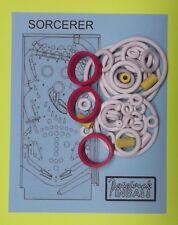 1985 Williams Sorcerer pinball rubber ring kit