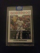 2020 Topps Archives Signature Series 1/1 Ryan Howard Auto Phillies 2008 NBCD