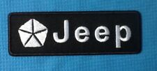 JEEP WRANGLER GRAND CHEROKEE 4x4 CAR SOW SEW ON IRON ON CAP PATCH BADGE