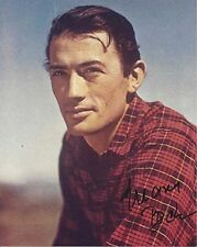 PECK GREGORY PECK aa autographed 8X10 photo GOLDENAGE ESSENTIALS