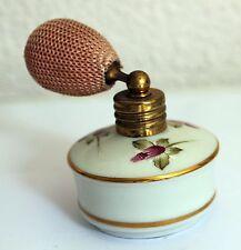 Vapo ancien en porcelaine allemande - Décor floral