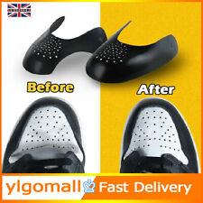 2pc Anti Crease Sneaker Shield Shoe Trainer Protector Toe Box Decreaser Reusable