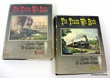 Trains We Rode Beebe 2 Vol Set Alton-New York Central Northern Pacific-Wabash