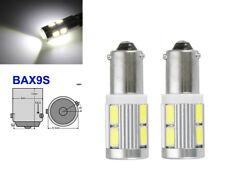 2x H6W BAX9S 434 433 10 SMD LED Standlicht Rennsport Standlichter Deutsche Post