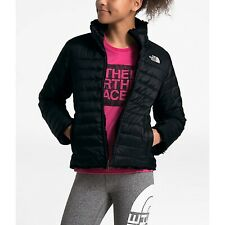The North Face Mossbud Jacket Reversible Girls Size Large 14/16 NTF Black