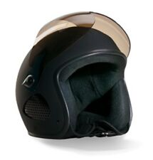 "BORES Helm SLIGHT SRM 1 Jethelm mit Visier Biker Design ""TITAN"" matt 3XL 62/63"