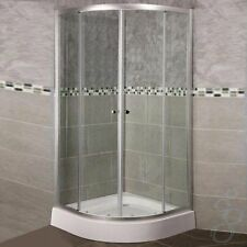 900mm x 900mm Quadrant Shower Enclosure And Fibreglass Tray