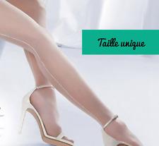 Bas couture blancs pour porte-jarretelles sexy glamour pinup rétro vintage