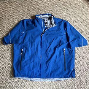 Sunice Hurricane Rain Jacket Pullover Short Sleeve