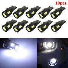 10PCS Bright White Lensless T10 LED Car Light Reading Light License Light 12-24V