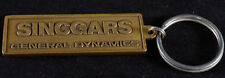 General Dynamics SINCGARS RT-1523 ICOM Radio Keychain Vintage 1990 Brass Bronze