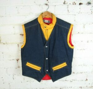 "Vintage 80s Sergio tacchini Bodywarmer Retro Gilet Jacket Size 40"" / Medium"