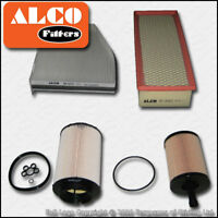 SERVICE KIT AUDI A3 (8P) 2.0 TDI 16V OIL AIR FUEL CABIN FILTERS FF=141MM (03-06)