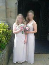 Lipsy London Women's Embellished Strap Maxi Dress, Hush Violet size 6