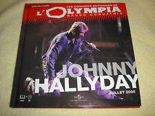 """CD - LES CONCERTS MYTHIQUES DE L'OLYMPIA - """"JOHNNY HALLYDAY"""""""