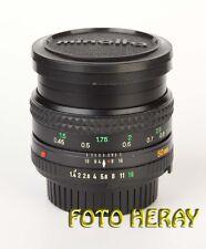 Minolta MD Rokkor 50 mm 1:1,4 lichtstarkes Objektiv  38524