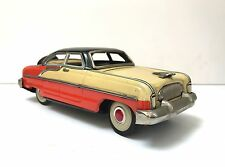 Nash 4 door tin toy vintage 3 color friction with siren car