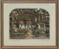 Graham Clarke (b.1941) - Contemporary Etching, Turnip Court