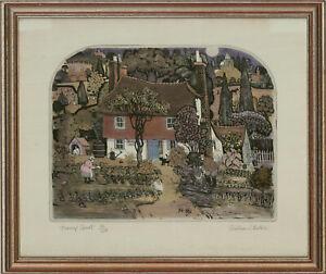 Graham Clarke (b.1941) - Contemporary Etching, Turnip Court