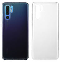 Hülle für Huawei P30 Pro Silikon Case Transparent TPU Handyhülle Tasche Cover