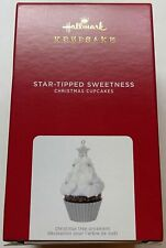 Hallmark 2021 Cupcakes Star-Tipped Sweetness Christmas Ornament New with Box