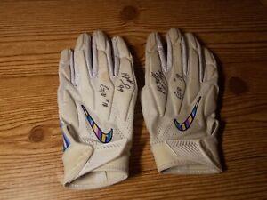 Matt Judon Baltimore Ravens Crucial Catch Game Worn Used Gloves Rare