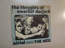 "NICE: (w/Keith Emerson) Thoughts Of Emerlist Davjack-DenmarK 7"" 67 Immediate PSL"