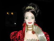 BARBIE * HOLIDAY BALL Porcelain doll * DANBURY MINT * STUNNING