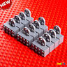 12-Pack Lego Gray Magnet Brick Minifigure Stand Figure Display Grey Base NEW