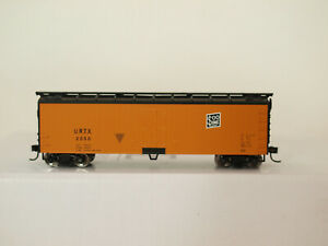Walthers H0 910-3612 40' Double Sheathed Reefer SOO LINE URTX #2050 in OVP