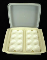 Tupperware Deviled Egg 4 Piece Keeper/Carrier Tray #723 #722 #665 Ivory Vintage