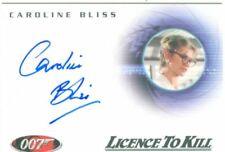 James Bond The Complete 40th Autograph Card A70 Caroline Bliss