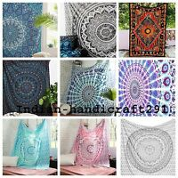 Mandala Tapestry Indian Wall Hanging Bohemian Hippie Bedspread Bed Sheet Throw