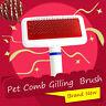 Dog Puppy Cat Pet Hair Shedding  Trimmer Comb Brush Slicker Rake Tool
