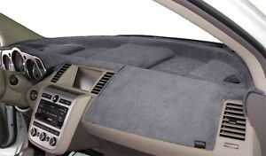 Fits Chrysler NEW YORKER 1982 Velour Dash Board Cover Mat  Medium Grey